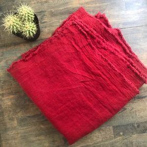 HUGE 💯 linen shams!